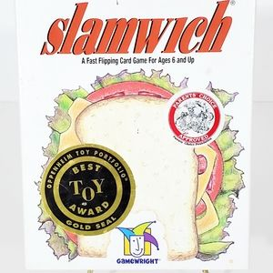 Slamwich Fast Paced Card Game Gamewright Award Win